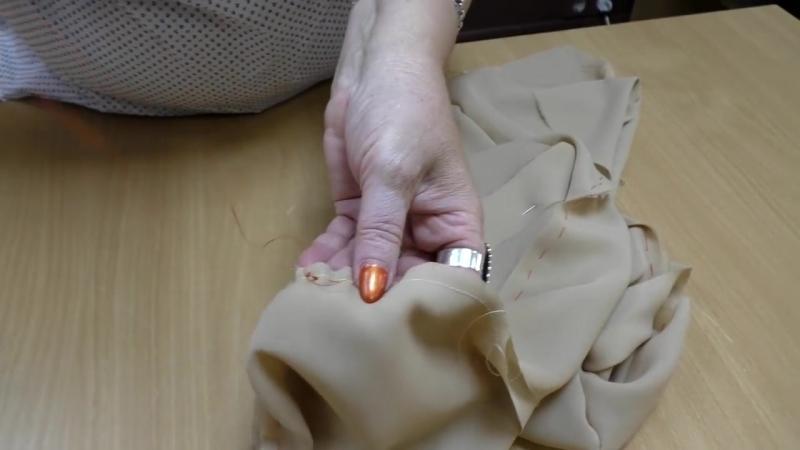 Мастер класс по шитью Как правильно вшить рукав