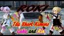 943【MMD】 ROKI【Tda Short Kimono Luka and Rin】