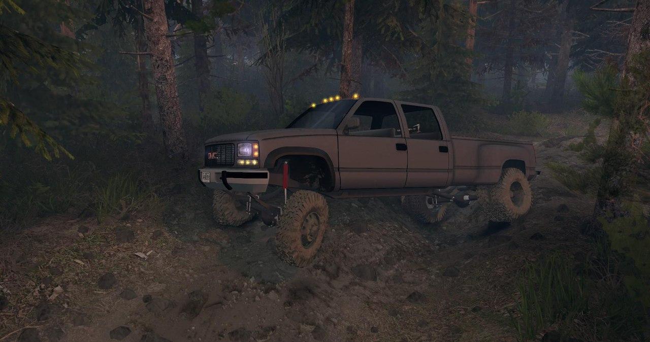 95 GMC Crew Cab Dually v1.0 для Spintires - Скриншот 1