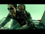 The Matrix Reloaded : Motorcycle escape/chase (HD) ~umR best movie scene fest!