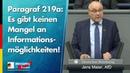 Paragraf 219a Es gibt keinen Mangel an Informationsmöglichkeiten! - Jens Maier - AfD-Fraktion