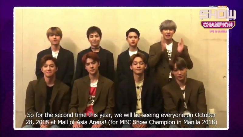 [FACEBOOK] 180918 All Access Production Facebook Update with EXO - -