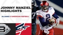 Every Throw & Run from Johnny Manziel's AAF Debut | Express vs. Iron Week 7