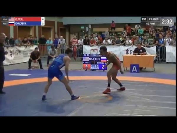 Ziolkowski, Pytlasinski: Akhmed CHAKAEV (RUS) - Jordan Michael OLIVER (USA)