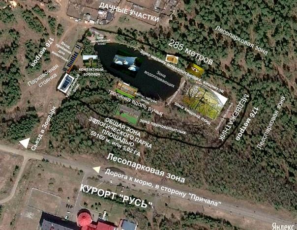 В Усть-Илимске будет создан зоологический парк