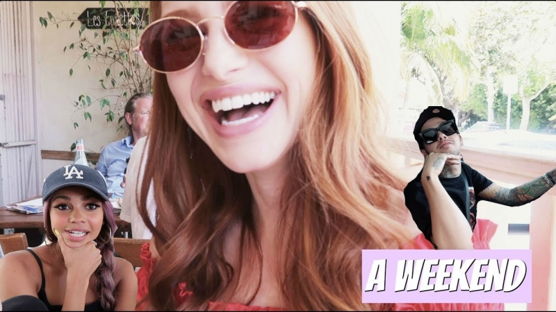 What i do in my spare time w Vanessa Morgan Travis Mills | Madelaine Petsch