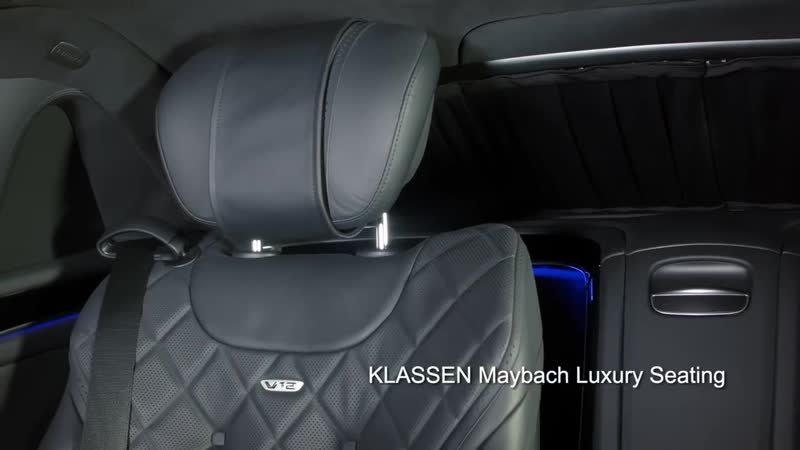 Mercedes - Maybach S 600 S650 Pullman Guard by KLASSEN ® 1050 STRETCHCARS Neue Staatslimousine