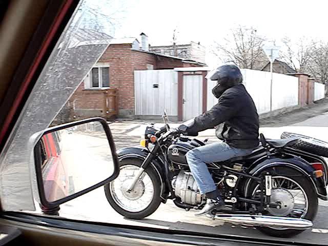 Мотоцикл Днепр МТ 8 с роторным двигателем РД 501