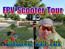 Eisenhower State Park Official FPV Tour Lake Texoma Campground Review