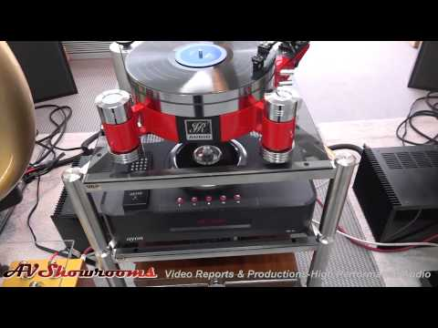 JR Audio turntables, My Sound amplifiers, Auto Tech Horn Loudspeakers, High End Munich 2015