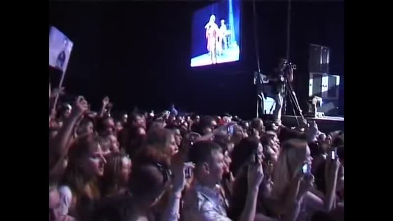 Первый концерт Таркана в Москве - Tarkan Moskovada ilk konseri
