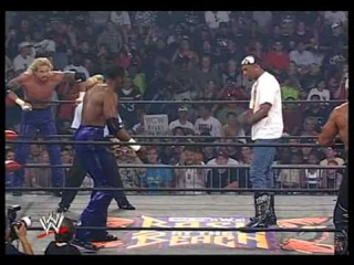 Hollywood Hogan & Dennis Rodman vs DDP & Karl Malone 1/3
