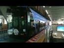 Прибытие поезда MIKU FLYER – Хацунэ Мику х монорельсовая Ж/Д города Чиба