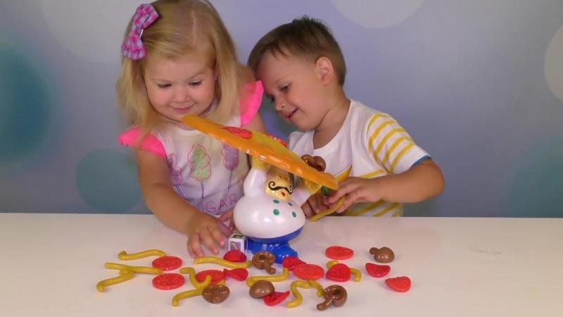 Развивающая Игра ПИЦЦА Для Детей Играем весело!
