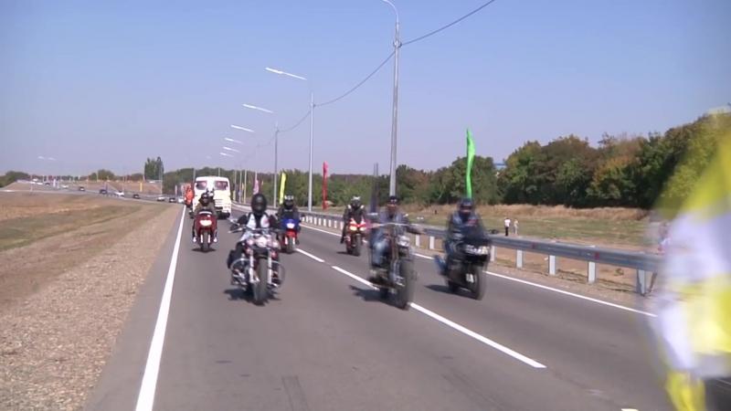 Открытие моста в г.Изобильном