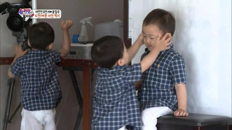 [HIT] 슈퍼맨이 돌아왔다-험난한 사진 찍기, 송일국을 도와준 구세주는?.20140831