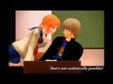 【MMD銀魂/GinTama】 A catastrophe!! 【Okita + Kagura】