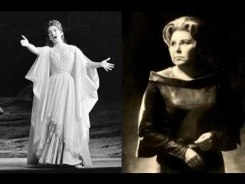 Maria Callas Christa Ludwig Oh Rimembranza Ah si fa core abbracciami Norma