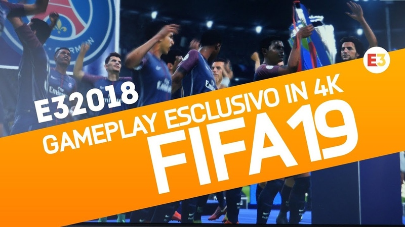 FIFA 19 Primo Gameplay Esclusivo in 4K - First Exclusive Gameplay Offscreen (E3 2018)
