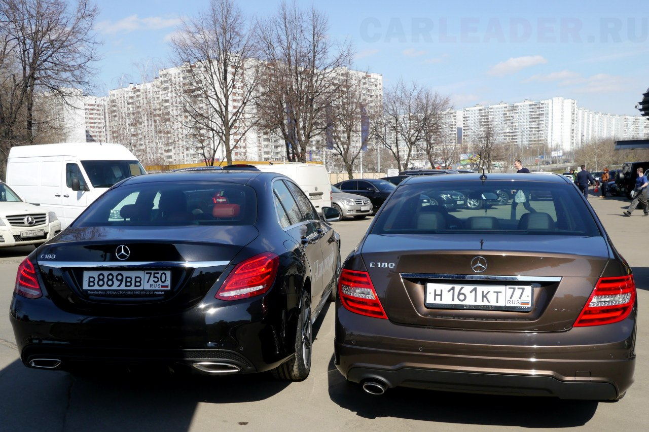 Mercedes-Benz C AMG 2014 vs Mercedes-Benz C AMG 2013