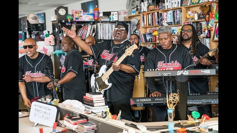 Trouble Funk NPR Music Tiny Desk Concert