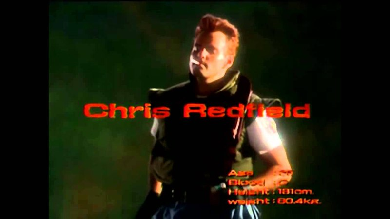Resident Evil 1996 Live Action actors