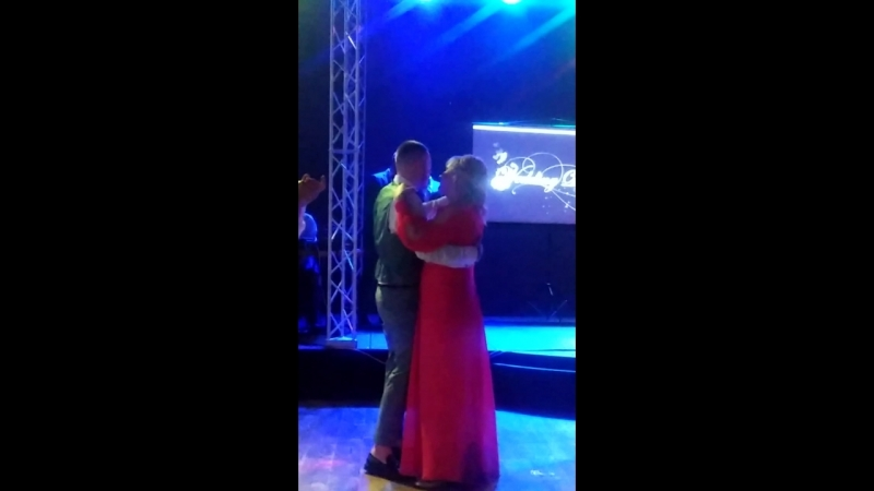 танец Некита с мамой