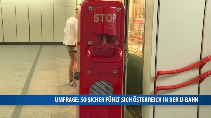 Umfrage- So sicher fühlt sich Österreich in der U-Bahn