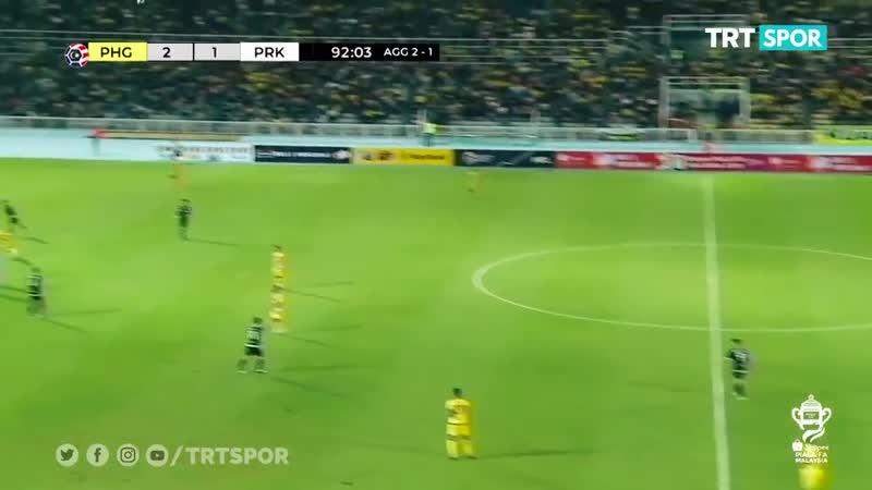 Сумасшедший гол забили в Кубке Малайзии