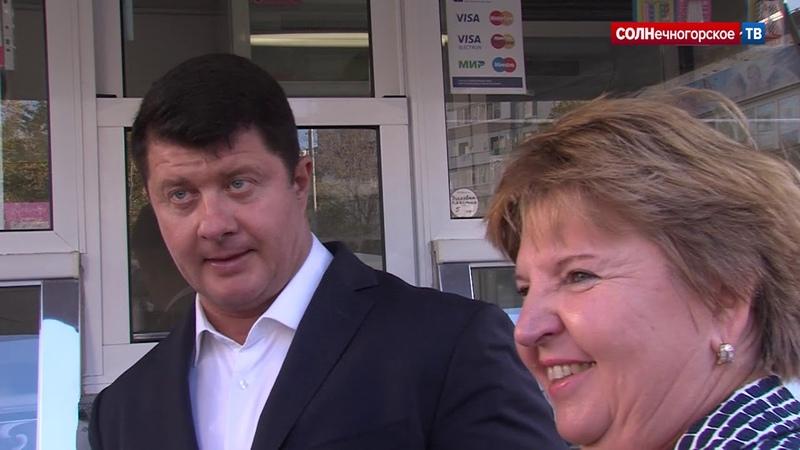 Владимир Слепцов с рабочей поездкой посетил городское поселение Ржавки