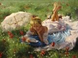 Vicente Romero Redondo Paintings (Adagio - Albinoni)