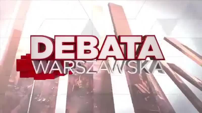 Debata kandydatów na prezydenta Warszawy Cała debata Jan Potocki i inni 12 10 2018