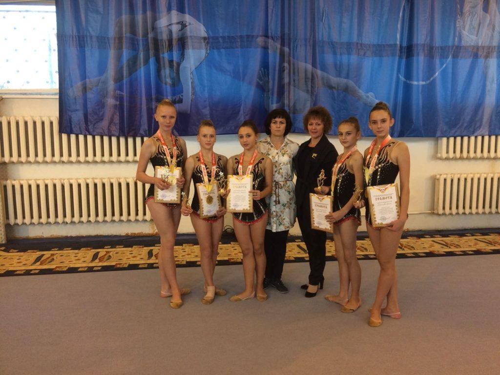 Зеленчукская «Виктория» призер открытого кубка РСО-Алания по художественной гимнастике