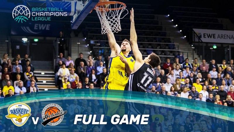 EWE Baskets v Avtodor Saratov - Full Game - Play-Off Qualifiers 2 - Basketball Champions League