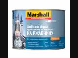 Marshall Anticorr Aqua - вд грунт-эмаль по металлу, наносится на ржавчину без грунта, предотвращает коррозию