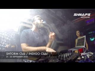 Shnaps @ Shtorm Club, Mykolaiv / Indigo Club, Kyiv 21-22.09.2018