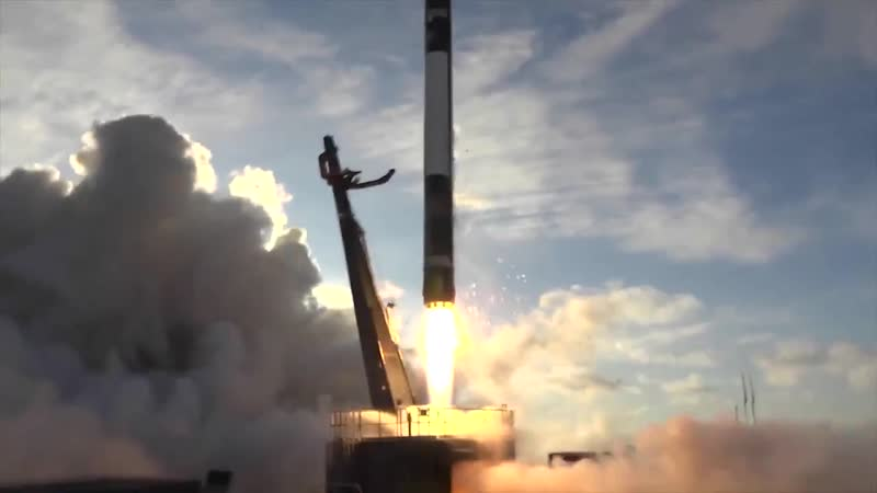 Lift-off from Rocket Lab Launch Complex 1 for the @NASA ELaNa19 mission