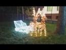 Новогодние сани и свето-качели. Компания Лунный свет. Светопарк.