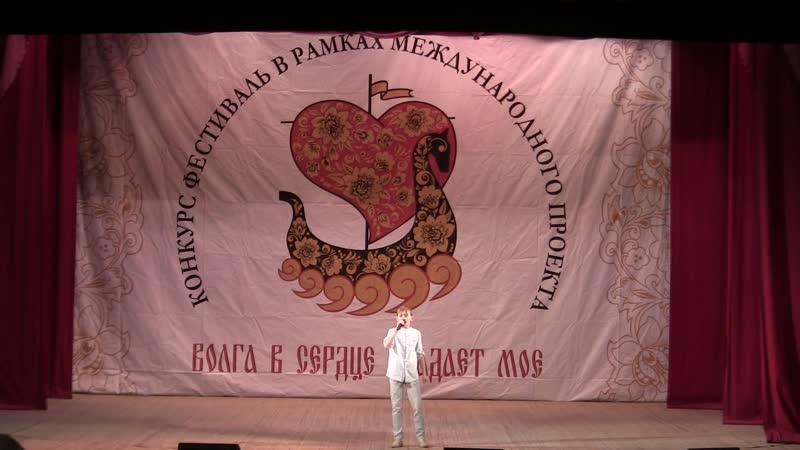 Константин Долганов песня 2 (Волга в сердце впадает моё Саратов 9.11.2018)