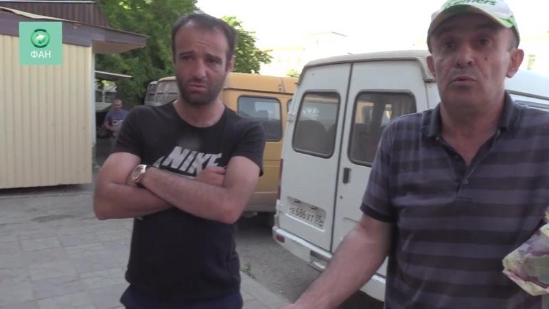 «Работу отняли, вот и бастуем»_ махачкалинские водители маршруток столкнулись с беспределом