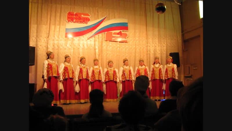 Выступает Пинежский народный хор - лучший из лучших!