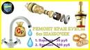 🔴 Как сделать РЕМОНТ КРАН БУКСЫ без ШАëБОЧЕК 💧Смеситель в ванной 💦Лайфхак идеи homemade plumbing