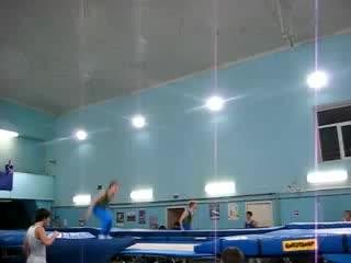 Синхронные прыжки..!! Я с Рыжиком...2г назад