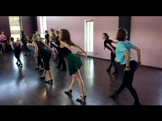 Женская техника в танце   Саша Луценко   клуб