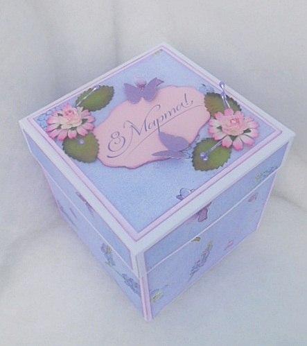 оробочка с сюрпризом, коробочка с сюрпризом на 8 марта, мэджик бокс, Magic Box
