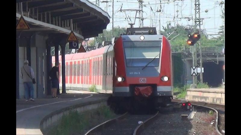 Treinen op station Neuss Hauptbahnhof
