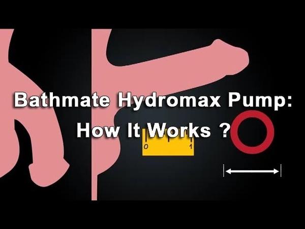 How to get a bigger penis using Bathmate Pump - Bathmate Hydromax Pump
