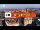 DailyDrone: Frauenkirche, Dresden (2017) - Фрауэнкирхе, Дрезден, Саксония