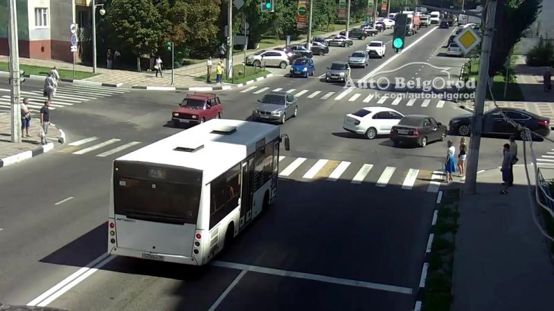 ДТП Князя Трубецкого/Победы 10.08.2108