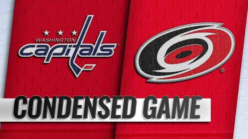 09/21/18 Condensed Game: Capitals @ Hurricanes